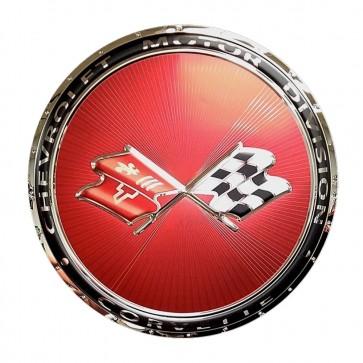 Corvette C3 Emblem Sign | 1968 - 1982