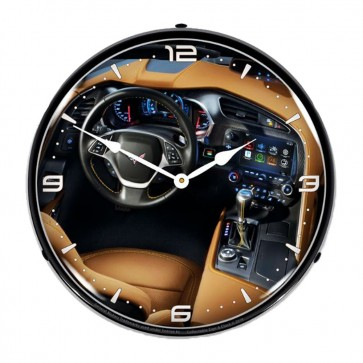 C7 Corvette Dash | LED Clock