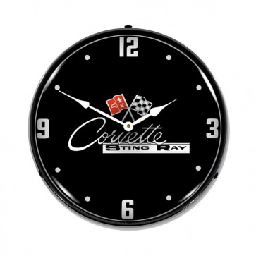 C2 Corvette Sting Ray | LED Clock