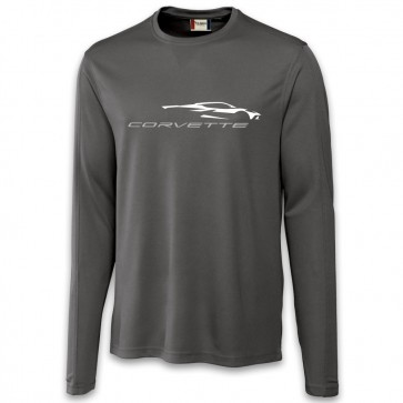 C8 Corvette | Performance Tee - Gray