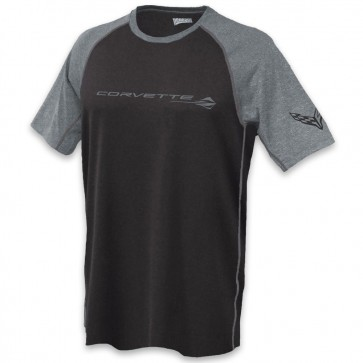 C8 Stingray Reverse-Mesh | Tee - Black