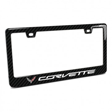 C7 Corvette License | Plate Frame