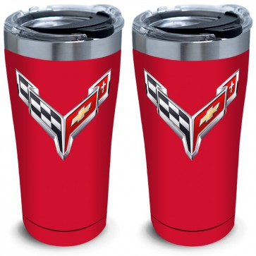 C8 Color-Matched Tervis   20oz Tumblers - Set of 2