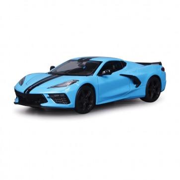 1:24 Scale C8 Corvette Z51 | Blue/Black Stripe