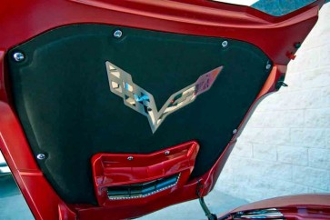 Stingray & Z06 Corvette Hood Emblem