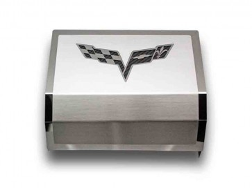 Corvette C6 Fuse Box Cover (Carbon Fiber Inlay)