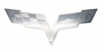 Corvette C6 Hood Panel Badge