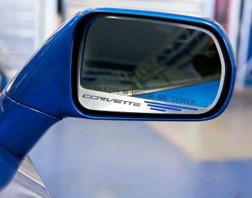 Corvette Stingray Side View Mirror Set (Auto-Dim)