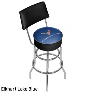 C8 Corvette Color-Matched | Counter Stool w/Back