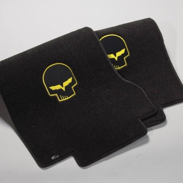 Jake 2 Pc. Ultimat™ Floor Mat Set - Racing Yellow (2013.5 - Late)