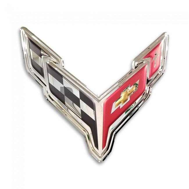 2020 Corvette Crossed Flags Tee