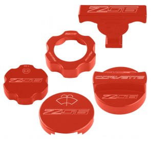 C7 Under Hood Cap Cover Kit - Z06 Logo