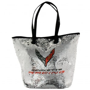 Corvette Racing C8.R | Reverse Sequin Tote