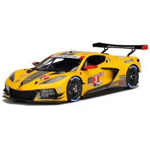 1:18 Scale Corvette | C8.R #3 Yellow/Black