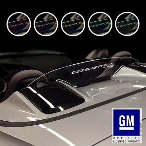 C7 Convertible Wind Deflector | Corvette Signature w/Stingray Fish