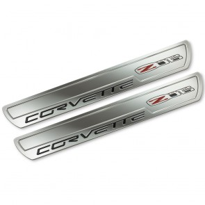 Corvette C6 Z06 | Chrome Doorsill Plates