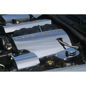 Corvette C6 Polished Fuel Rail Covers - 2008-2013