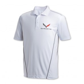 Corvette Stingray Sport Polo | White