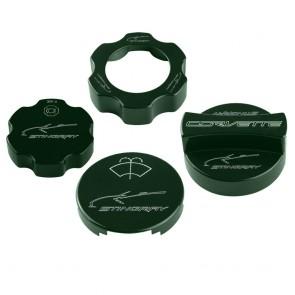 C7 Under Hood Cap Cover Kit - Stingray Gesture & Signature