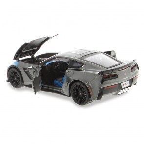 1:24 Scale C7 Corvette | Gray Grand Sport Die Cast