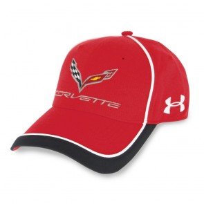 Under Armour Stingray Fitted Cap - Red/White