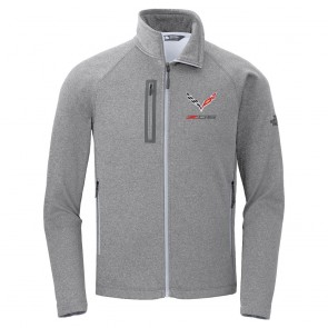 North Face® Z06 Canyon Flats Fleece Jacket - Medium Gray Heather