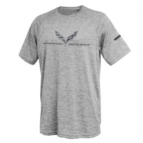 Grand Sport Performance Tee | Silver