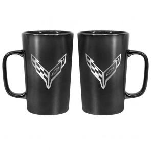 2020 Corvette | 16 oz Ceramic Mug - Black
