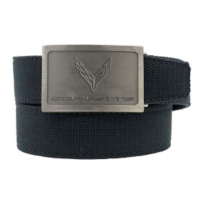 C8 Corvette | Custom-Fit Canvas Belt