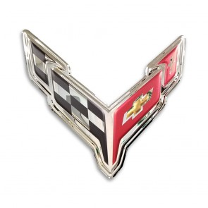 2020 Corvette | Crossed Flags Emblem