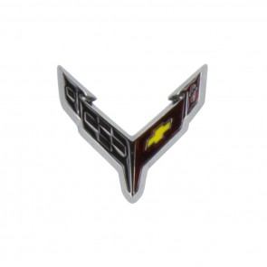 C8 Corvette Carbon Flash | Lapel Pin