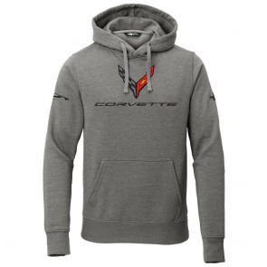 2020 Corvette North Face® | Hooded Pullover - Gray