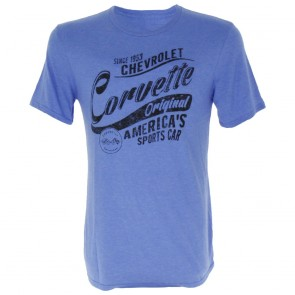 Chevrolet Corvette Original | Tee - Heather Blue