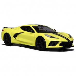 1:24 Scale C8 Corvette | Stingray - Yellow