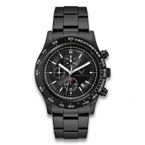 C8 Corvette Brushed Silver Chronograph Watch