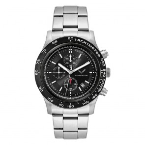 C7 Stingray Drivers Watch - Silver