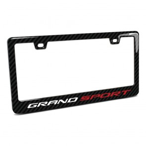 C7 Grand Sport | License Plate Frame