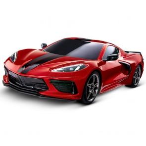 1:10 Scale C8 Corvette | Traxxas RC Car - Red