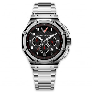 C8 Legacy Custom Watch | Stainless Steel Band