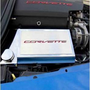 2014-2015 Corvette Stingray Fuse Box Cover (Carbon Fiber Inlay)