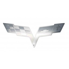 Corvette C6 Hood Panel Badge