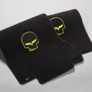 C6 Jake 2 Pc. Ultimat™ Floor Mat Set - Racing Yellow (2005 - 2007)