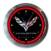 Corvette Stingray | Neon Clock