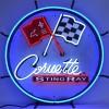Corvette C2 Stingray | Round Neon Sign