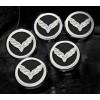 Corvette Stingray Carbon Fiber Fluid Cap Cover Set (Automatic)