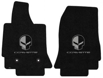 Corvette Jake 2 Pc. Ultimat™ Floor Mat Set - Jet (2014 & up)