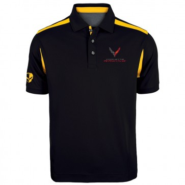 Corvette Racing C8.R Two-Tone Polo