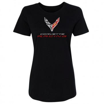 Corvette Racing C8.R | 2020 Crossed Flags Tee