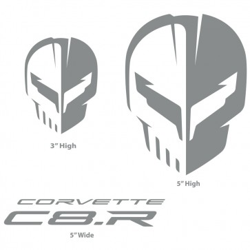 Corvette Racing C8.R | Silver Decal Pack