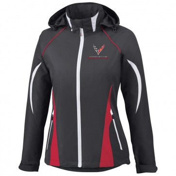 Corvette Racing | Colorblock Hooded Jacket